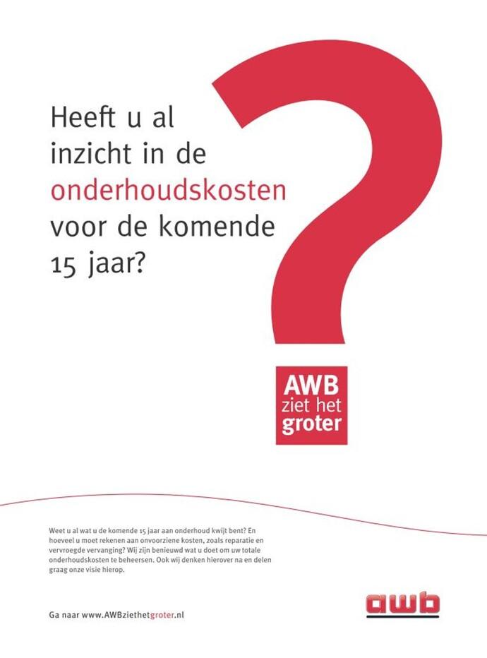 Advertentie AWB 2014