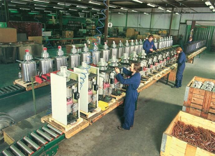 AWB Beek en Donk fabriek